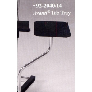 Avanti Side Black Tab Tray: Model # 92-2040/14, Black