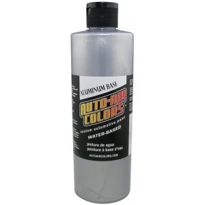 Auto-Air Colors™ Aluminum Medium Base Coat 16oz; Format: Bottle; Size: 16 oz; Texture: Medium; Type: Airbrush; (model 4102-16), price per each