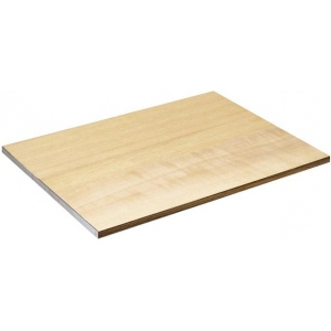 "Alvin® DB Series Drawing Board / Tabletop 16"" x 21""; Top Color: Brown; Top Material: Wood; Top Size: 16"" x 21""; (model DB112), price per each"