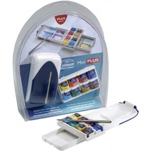 Winsor & Newton™ Cotman™ Watercolor Mini Plus: Multi, Pan, Watercolor, (model 0390396), price per set