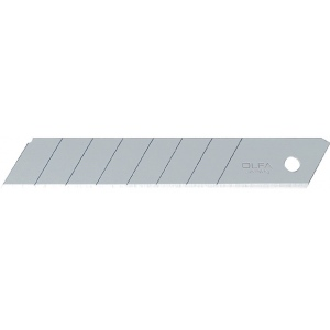 Olfa® LB Snap-Off 18mm Steel Blades 5-Pack; Refill: Yes; Type: Knife; (model OR-LB5B), price per pack