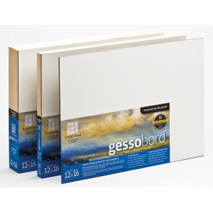 """Ampersand 1/8"""" Flat Gessobord: 8"""" x 8"""", Case of 12"""