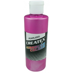 Createx™ Airbrush Paint 4oz Pearlescent Magenta; Color: Red/Pink; Format: Bottle; Size: 4 oz; Type: Airbrush; (model 5302-04), price per each