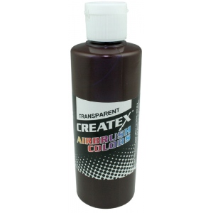 Createx™ Airbrush Paint 2oz Dark Brown; Color: Brown; Format: Bottle; Size: 2 oz; Type: Airbrush; (model 5128-02), price per each