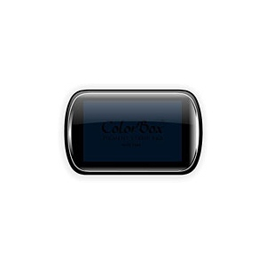 ColorBox® Full Size Ink Pad Midnight; Color: Black/Gray; Format: Pad; Ink Type: Pigment; Shape: Full Size Rectangle; (model CS15027), price per each
