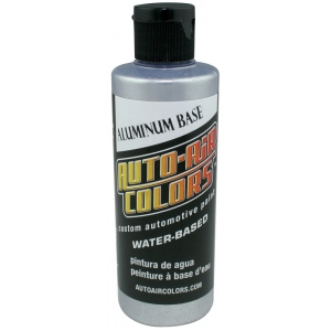 Auto-Air Colors™ Aluminum Course Base Coat 4oz: Bottle, 4 oz, Coarse, Airbrush, (model 4103-04), price per each