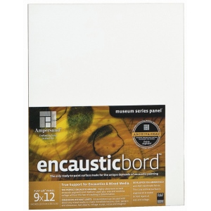 "Ampersand™ Encausticbord™ 5"" x 5""; Finish: Smooth; Format: Panel; Size: 5"" x 5""; Thickness: 1/8""; (model EN055), price per pack"