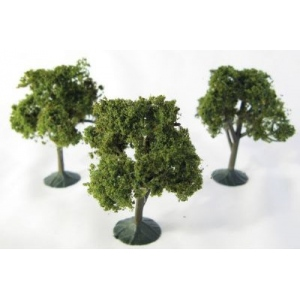 "Wee Scapes™ Architectural Model Deciduous Trees 3-Pack; Color: Multi; Material: Wire; Quantity: 3-Pack; Size: 2 1/4"" - 2 1/2""; Type: Tree; (model WS00321), price per 3-Pack"