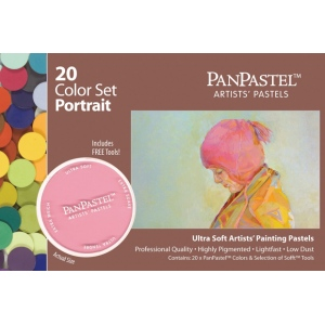 PanPastel® Ultra Soft Painting Pastel Portrait Set; Color: Multi; Format: Pan; Type: Ultra Soft; (model PP30203), price per set