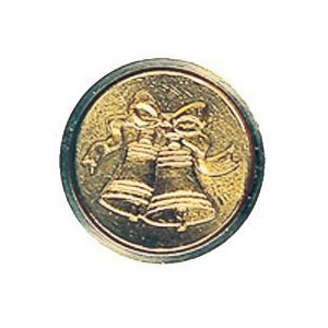 "Manuscript Mini Seal Bell; Shape: Round; Size: 3/4""; (model MSH725BELL), price per each"
