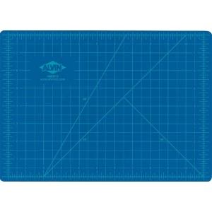 "Alvin® HM Series Blue/Gray Self-Healing Hobby Mat 12 x 18: Black/Gray, Blue, Grid, Vinyl, 12"" x 18"", 2mm, Cutting Mat, (model HM1218), price per each"