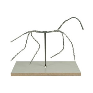"Sculpture House Animal Armature: 10"" with Board"