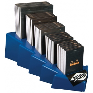 """Rhodia Sketch/Memo Pad Display; Color: White/Ivory; Format: Pad; Grid Size/Pattern: 5"""" x 5"""", Various; Quantity: 80 Sheets; Size: Multi; Weight: 20 lb; (model RB12D), price per each"""