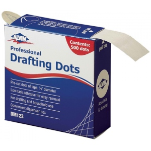 "Alvin® Drafting Dots: Drafting, 7/8"", (model DM123), price per each"