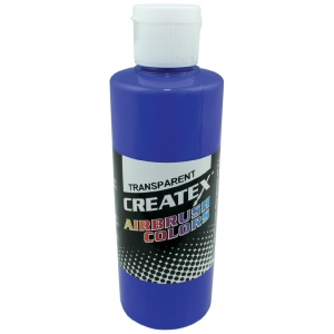 Createx™ Airbrush Paint 2oz Ultramarine Blue; Color: Blue; Format: Bottle; Size: 2 oz; Type: Airbrush; (model 5107-02), price per each