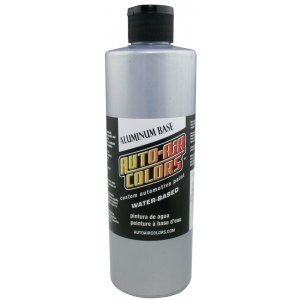 Auto-Air Colors™ Aluminum Course Base Coat 16oz; Format: Bottle; Size: 16 oz; Texture: Coarse; Type: Airbrush; (model 4103-16), price per each