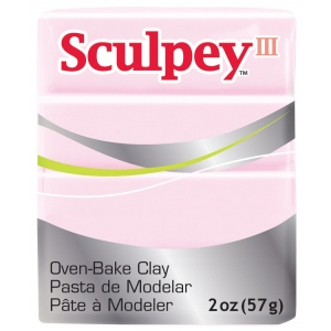 Sculpey® III Polymer Clay Ballerina; Color: Red/Pink; Format: Bar; Material: Polymer; Size: 2 oz; (model S3021209), price per each