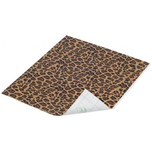"Duck Tape® Spotted Leopard Tape (Sheet): Multi, Sheet, 8 1/4"" x 10"", Pattern, (model DT280096), price per sheet"