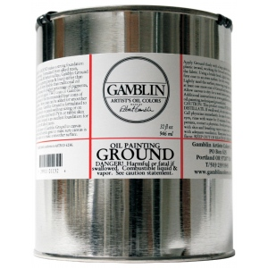 Gamblin Ground 32oz; Size: 32 oz; Type: Ground; (model G01132), price per each