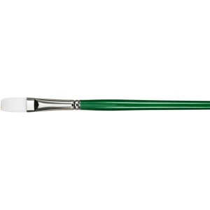 Princeton™ Better Synthetic Bristle Oil and Acrylic Brush Flat 20; Grade: Better; Length: Long Handle; Material: Synthetic Bristle; Shape: Flat; Type: Acrylic, Oil; (model 6100F-20), price per each