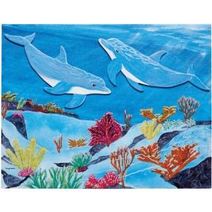 "Fredrix® Wyland® Dolphins Reef Series  : Panel/Board, 11"" x 14"", (model T2593), price per set"
