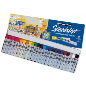 Cray-Pas® Specialist® Oil Pastel 25-Color Set; Color: Multi; Format: Stick; Type: Oil; (model ESP25), price per pack