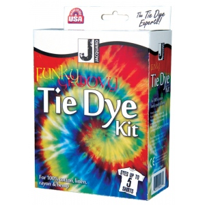 Jacquard Funky Groovy Tie Dye Kit; Capacity: 5 Shirts; Color: Multi; Ink Type: Tie Dye; (model JAC9445), price per kit