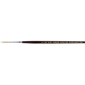 Mack Alan Johnson Signature Brush: Size 4/0