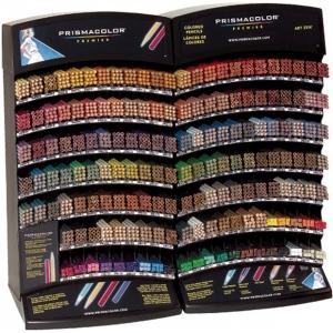 Prismacolor® Art Stix® Premier Colored Pencil Display Assortment; Format: Pencil; Lead Color: Multi; (model SN77781D), price per each