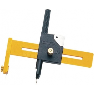 Olfa® Compass Cutter; Style: Circle; Type: Knife; (model OL-CMP1), price per each