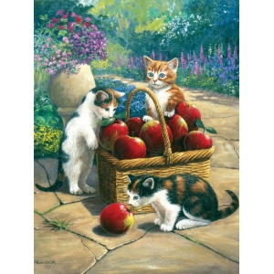 "Royal & Langnickel® Painting by Numbers™ 8 3/4 x 11 3/8 Junior Small Set Bumper Crop; Board Size: 8 3/4"" x 11 3/8""; (model PJS48), price per set"
