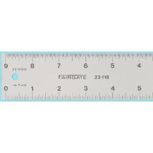 """Fairgate® 48"""" Eluxite Aluminum Centering Rules; Color: Metallic; Material: Aluminum; Size: 48""""; Type: Gauge; (model RC48), price per each"""