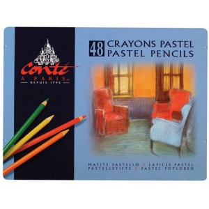 Conte™ Pastel Pencil 48-Color Set; Color: Multi; Format: Pencil; (model C2184), price per set