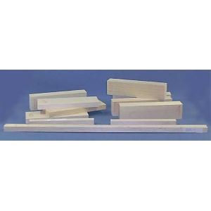 "Alvin® Balsa Wood Block 3 x 3; Format: Block; Size: 3"" x 3""; Thickness: 12""; (model BS1736), price per each"