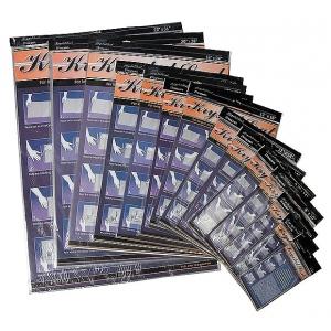 "Krystal Seal™ Self-Sealing Art Print and Photo Bags 9"" x 12"": Clear, Bag, Polypropylene, 9"" x 12"", (model KS0912), price per pack"