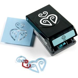 EK Success Garland Punch Hearts; Type: Pattern, Shape; (model 54-91013), price per each