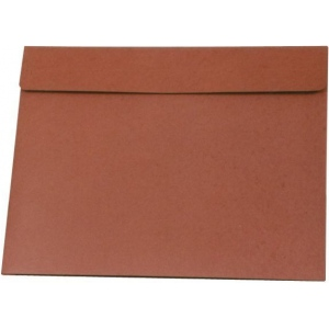 "Star® 20"" x 26"" Expanding Wallet: Red/Pink, Fiberboard, 20"" x 26"", (model E26), price per each"