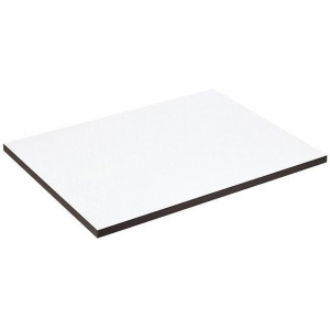"Alvin® XB Series Drawing Board / Tabletop 18"" x 24""; Top Color: White/Ivory; Top Material: Melamine; Top Size: 18"" x 24""; (model XB114), price per each"