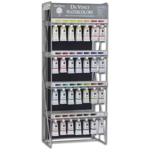 Da Vinci Artists' Watercolor Paint Top 28 Display