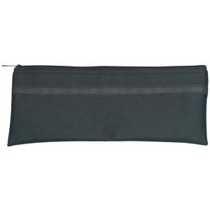 """Alvin® Black Nylon Utility Bag 5"""" x 8""""; Color: Black/Gray; Material: Nylon; Size: 5"""" x 8""""; (model N580), price per each"""