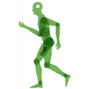 "Alvin® Human Figure 13.75"" Template; Scale: 1:5; (model TD1735A), price per each"