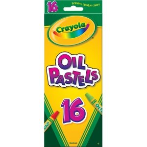 Crayola® Hexagonal Oil Pastel 16-Color Set; Color: Multi; Format: Stick; Type: Oil; (model 52-4616), price per pack