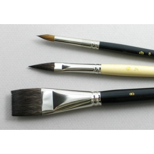 Artist Set of 3 Art Brushes