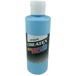 Createx Airbrush Paint: Sky Blue, Opaque, 2 oz.