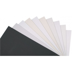 "Alvin® Mat and Drawing Smooth Surface Board Lady White 16 x 20; Color: White/Ivory; Format: Sheet; Quantity: 25 Sheets; Size: 16"" x 20""; Type: Mat and Drawing Board; (model MAT116-1620-25), price per 25 Sheets box"