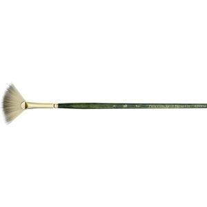 Princeton™ Best Synthetic Bristle Acrylic and Oil Brush Fan 6 : Best, Long Handle, Synthetic Bristle, Fan, Acrylic, Oil, (model 6200FN-6), price per each