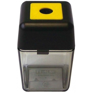 M + R Single-Hole Plastic Sharpener; Color: Assorted; Holes: One; Material: Plastic; Type: Manual; (model 0915), price per each