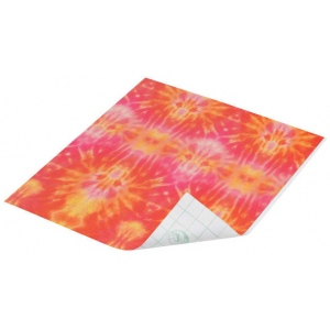 "Duck Tape® Cosmic Tie-Dye Tape (Sheet); Color: Multi; Format: Sheet; Size: 8 1/4"" x 10""; Type: Pattern; (model DT280095), price per sheet"