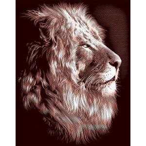 "Reeves™ Scraperfoil™ Gold Foil Lion; Color: Multi; Size: 8"" x 10""; (model PPCF30), price per each"