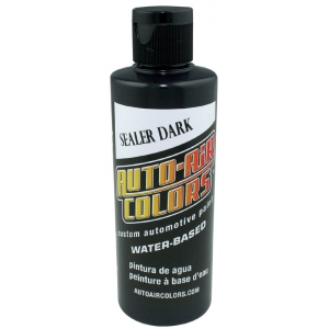 Auto-Air Colors™ Sealer Dark 4oz; Color: Black/Gray; Format: Bottle; Size: 4 oz; Type: Airbrush; (model 4002-04), price per each